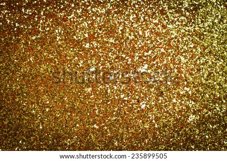 photo of  Decorative gold background with sparkling - stock photo