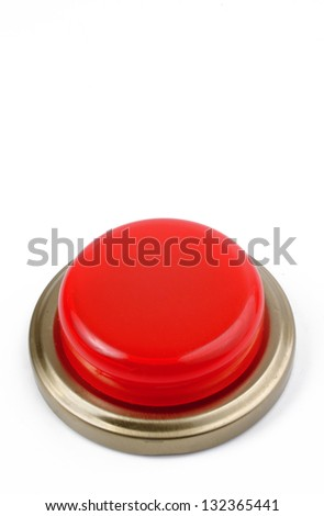 Photo of Emergency push button - stock photo