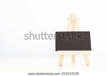 Photo of empty canvas - stock photo