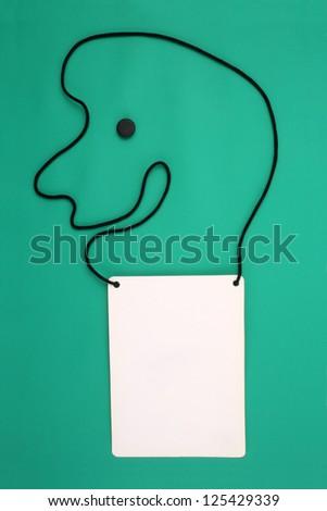 Photo of Happy fair ID - stock photo