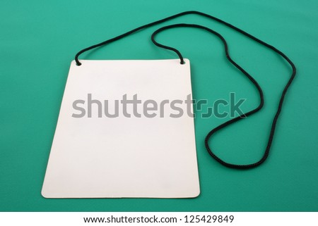 Photo of Identification for F1 circuit - stock photo