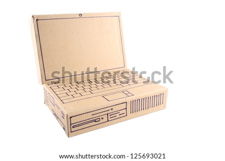 Photo of Laptop - Cardboard