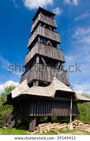 Photo of lookout tower in Czech republic