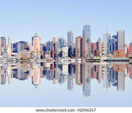 photo of midtown new york city, usa - stock photo
