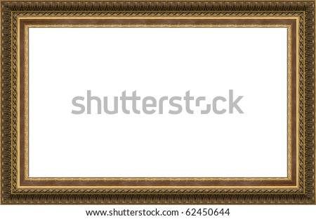 Photo Old Frame Picture Isolated Stock Photo (Edit Now) 62450644 ...