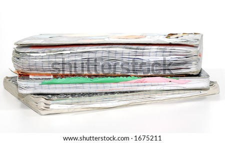 Photo of Old Notebooks