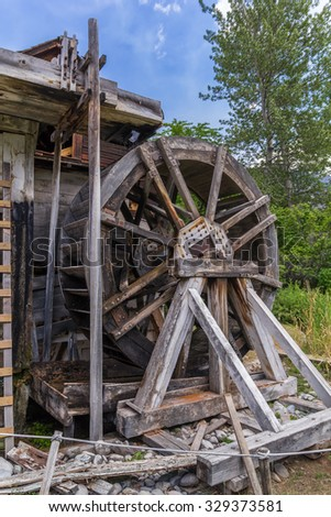Photo of Old watermill - stock photo
