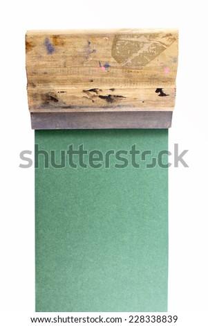 Photo of Serigraphy - stock photo