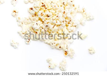 Photo of the Fresh popcorn - stock photo