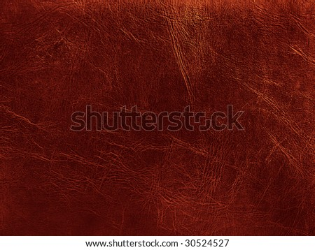 photo of the golden leather background - stock photo