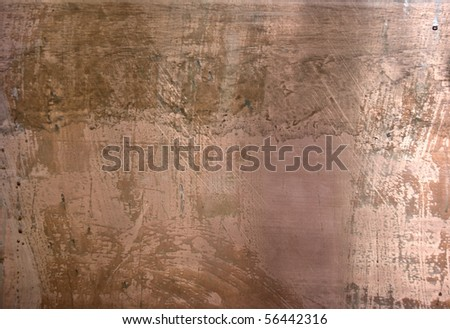 Photo of the texture of rusty cupper - stock photo