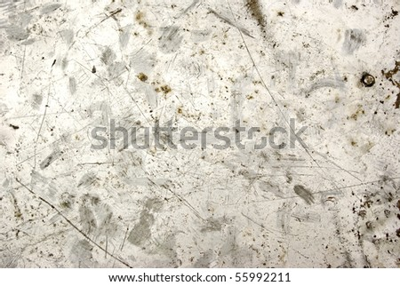 Photo of the texture of rusty metal - stock photo