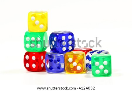 Photo of Various Color Dice - Game Related