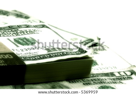 Photo of Various Dollar Bills and Amounts - Money Background