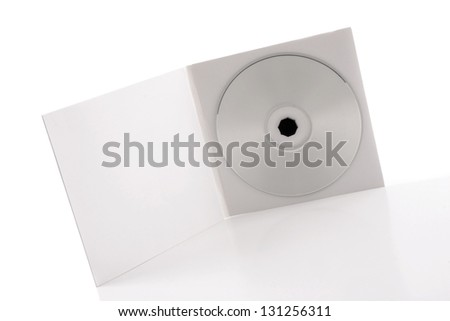 Photo of White CD Package