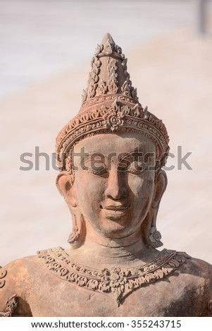 Photo Picture of a Classic Oriental Statue