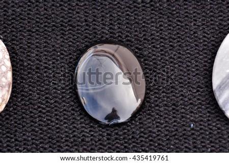 Photo Picture of Semi Precious Rock Stone Jewel - stock photo