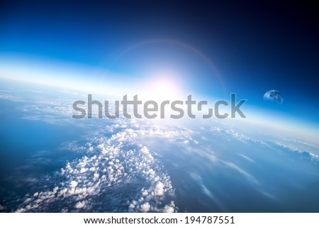Photo Planet Earth aerial view - stock photo