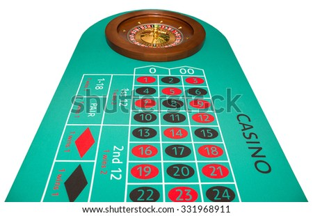 Photo roulette close up. - stock photo