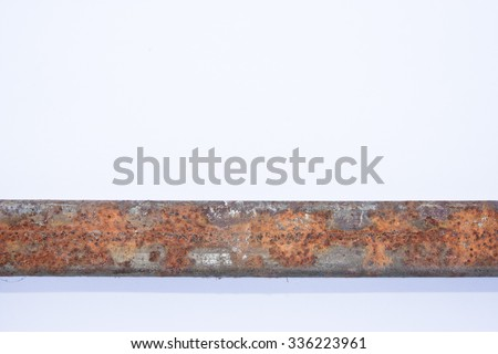 Photo rust, rust image, rust JPG, rust JPEG, rust Picture - stock photo