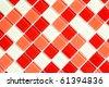 photo shot of checkered pattern - stock photo