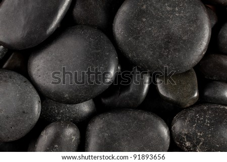 photo shot of stones background - stock photo