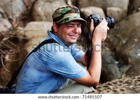 Photografpher - stock photo