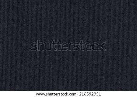 Photograph of dark Charcoal Black recycle striped paper, extra coarse grain, grunge texture sample. - stock photo