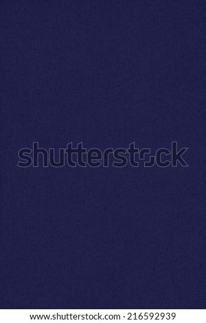 Photograph of Deep Navy Blue recycle striped paper, extra coarse grain, grunge texture sample. - stock photo