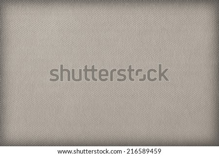 Photograph of Gray recycle paper, extra coarse grain, vignette grunge texture sample. - stock photo