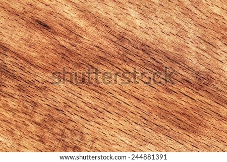 Photograph of old, roughly treated, warn out Beech Cutting Board grunge texture detail. - stock photo