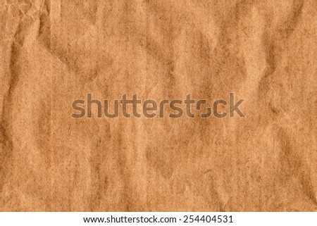 Photograph of Recycle Kraft Brown Paper - stock photo
