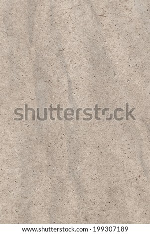 Photograph of recycle Off White kraft paper, coarse grain, crushed, crumpled, grunge texture sample