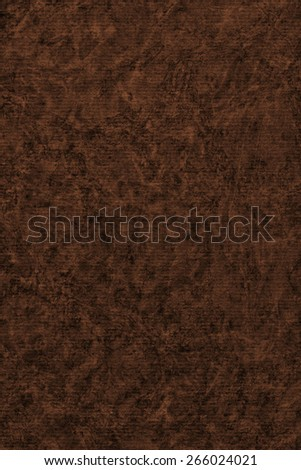Photograph of Recycle Striped Burnt Umber Brown Pastel Paper, bleached, mottled, coarse grain, grunge texture sample. - stock photo