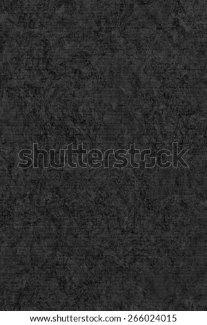 Photograph of Recycle Striped Charcoal Black Pastel Paper, bleached, mottled, coarse grain, grunge texture sample. - stock photo