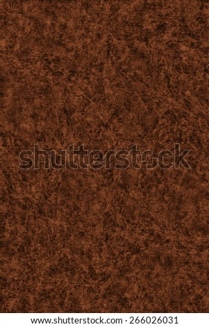 Photograph of Recycle Striped Dark English Red Pastel Paper, bleached, mottled, coarse grain, grunge texture sample. - stock photo