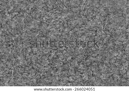 Photograph of Recycle Striped Dark Gray Pastel Paper, bleached, mottled, coarse grain, grunge texture sample. - stock photo