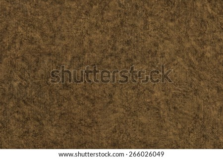 Photograph of Recycle Striped Raw Umber Brown Pastel Paper, bleached, mottled, coarse grain, grunge texture sample. - stock photo