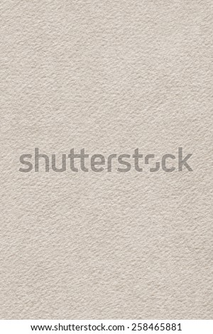 Photograph of Recycle Watercolor Paper, coarse grain, Grayish Beige, grunge texture detail sample. - stock photo