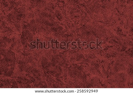 Photograph of Recycle Watercolor Paper, coarse grain, light Wine Red, bleached, interspersed with delicate irregular linear pattern, grunge texture. - stock photo
