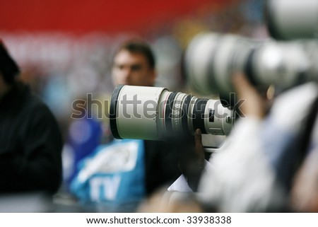 Photographe - stock photo
