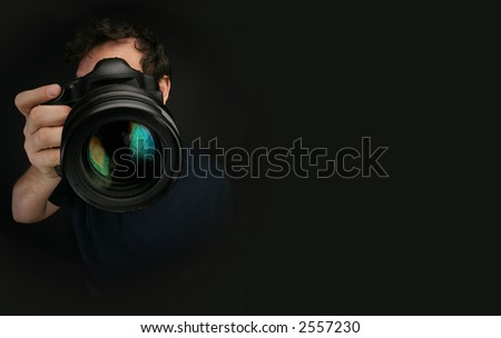 Photographer - stock photo