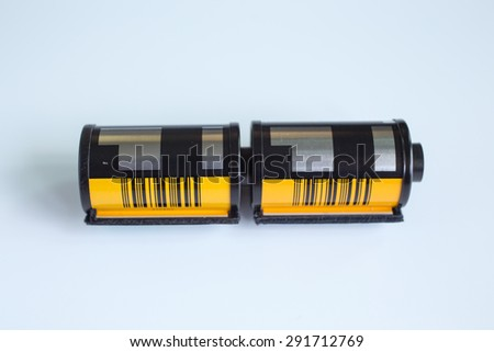 photography color / Black&white film - stock photo