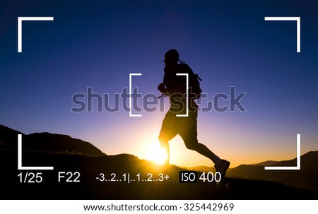 Photography Focus Camera View Concept - stock photo