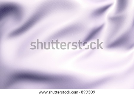photorealistic 3D rendered satin wrinkles abstract - stock photo