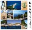 Photos from city Bol on island Brac, Croatia, Dalmatia - stock photo