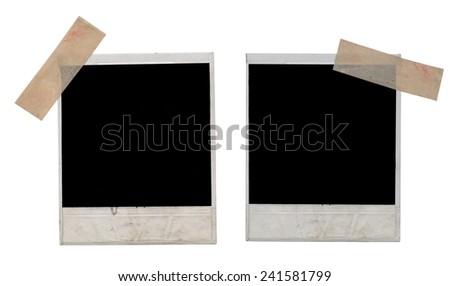 photos on white background - stock photo