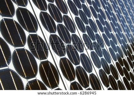 Photovoltaic Arrays - stock photo