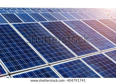 photovoltaic cells - stock photo