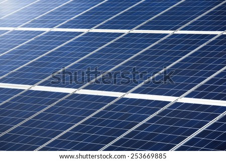 Photovoltaic panel or pv for power generation texture or pattern